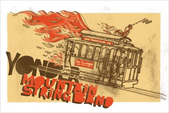 Image of Yonder Mountain String Band Trolley