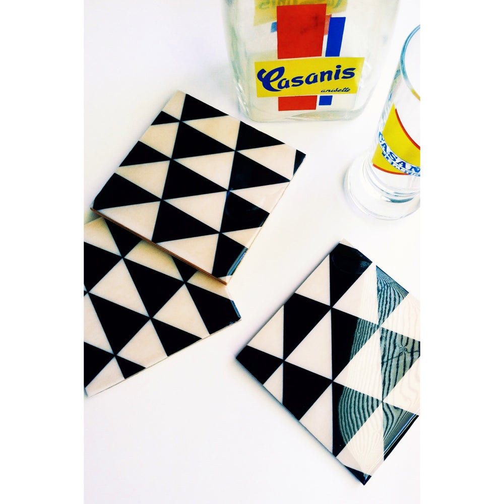 Image of Triangles Coasters
