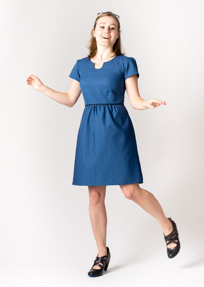 Image of ROXY DRESS: Cobalt
