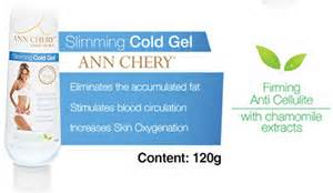Image of slimming cold gel - skin firming - anti cellulite