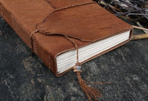 Image of Muir - a pragmatic leatherbound journal in burnt sienna