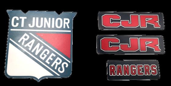 Image of CJR Helmet/Car Decals