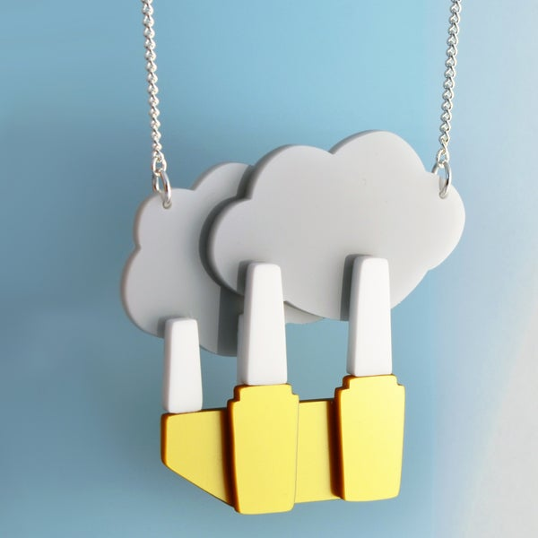 Image of Battersea Power Station Necklace