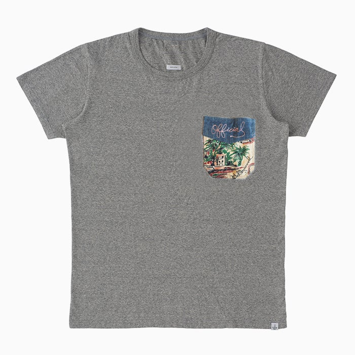 Image of visvim WORK POCKET TEE - GREY