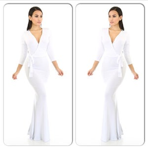 Image of Snow White Maxi Dress