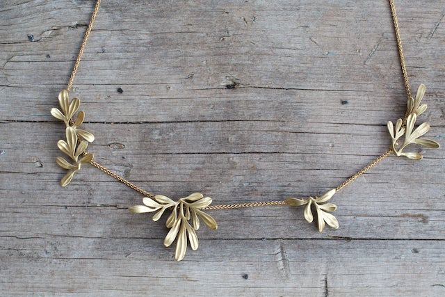 Image of Rue Leaf Necklace