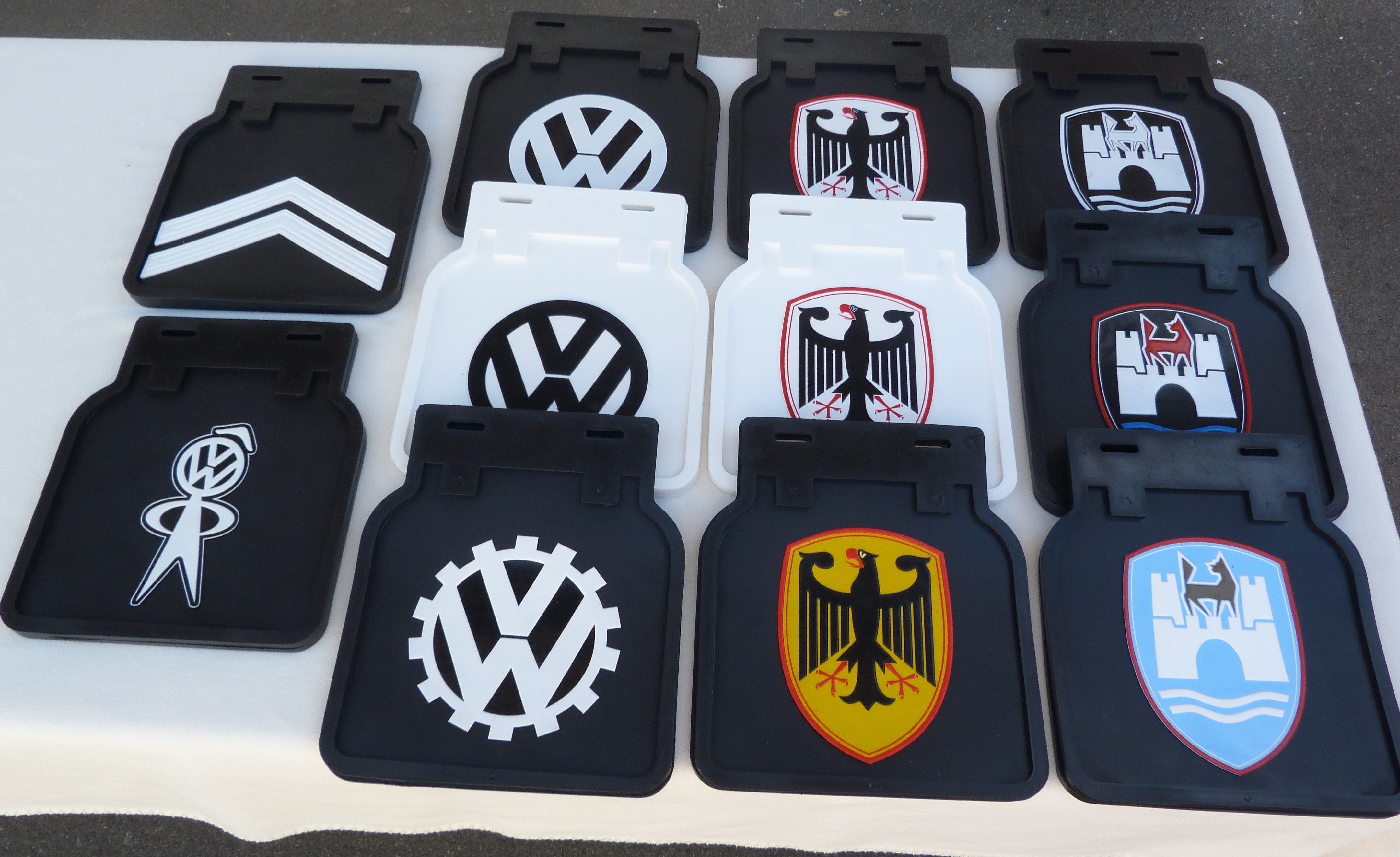 Custom Mud Flaps Set Of 2 Foreign Concepts Vw