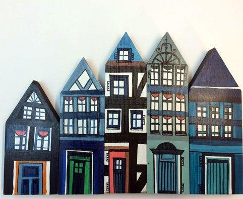 Image of HOUSES, dunkel