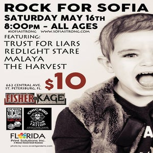 Image of Rock for Sofia - May 16 - Local 662 - FREE SHIPPING!