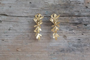 Image of Rue Leaf Articulated Earrings