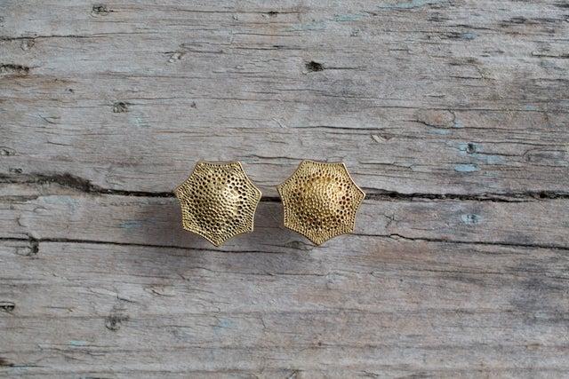 Image of Snowflake Stud Earrings
