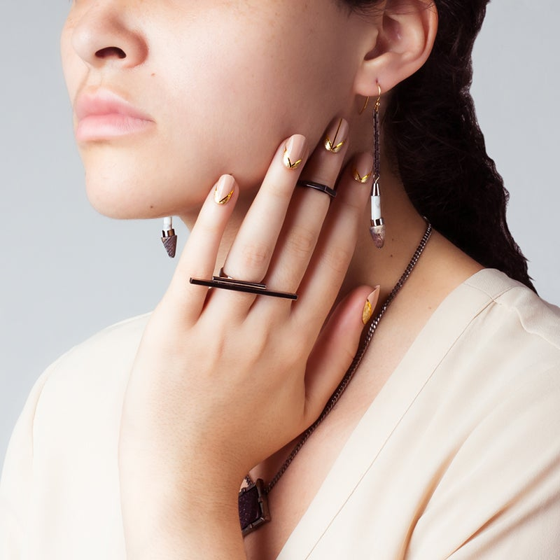 Image of WINNOW Arcturus Line Earrings