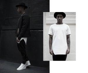 Image of Urban Flavours NYC SOHO Scuba T-Shirt White