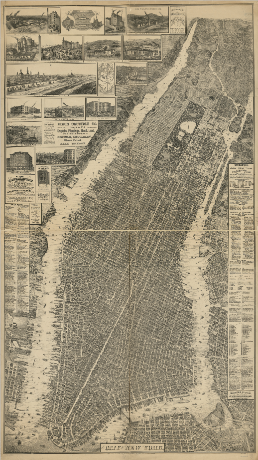 Image of Taylor Map of New York