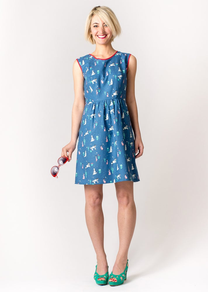 Image of ROXY DRESS: Desert Print