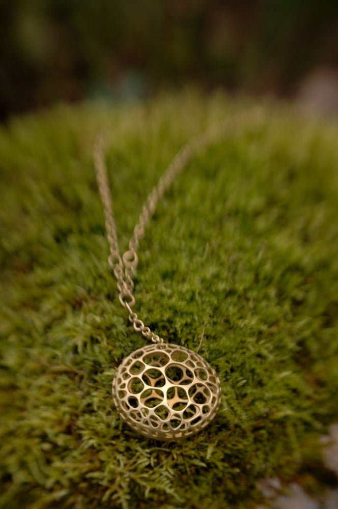 Image of Cell form necklace
