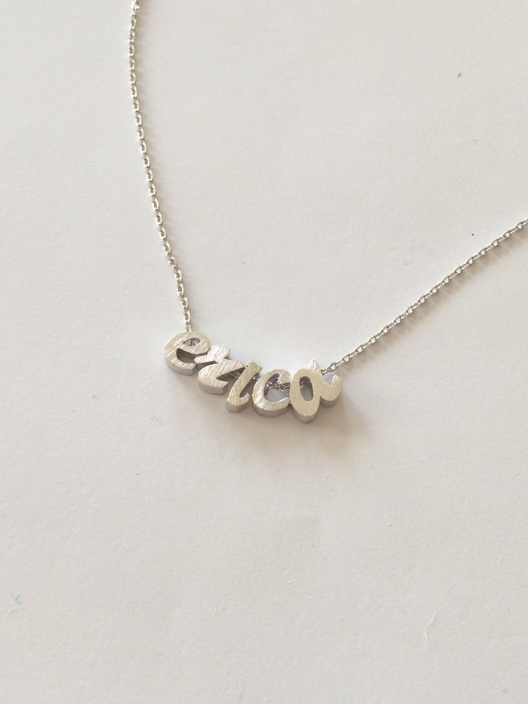 Image of Cursive Build Your own Necklace