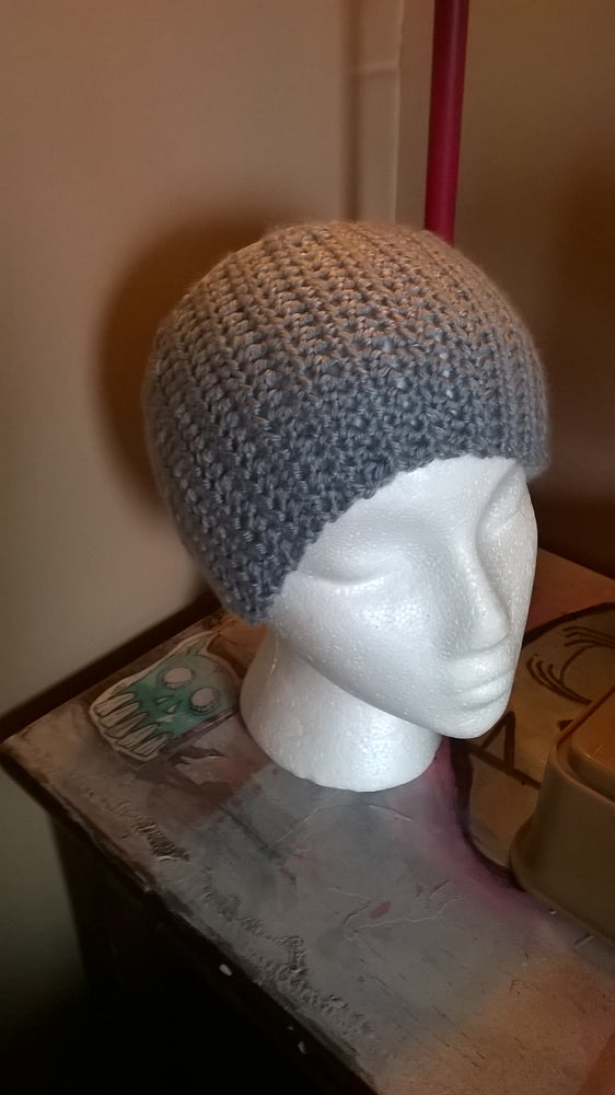 Image of HEATHER GREY HAT!