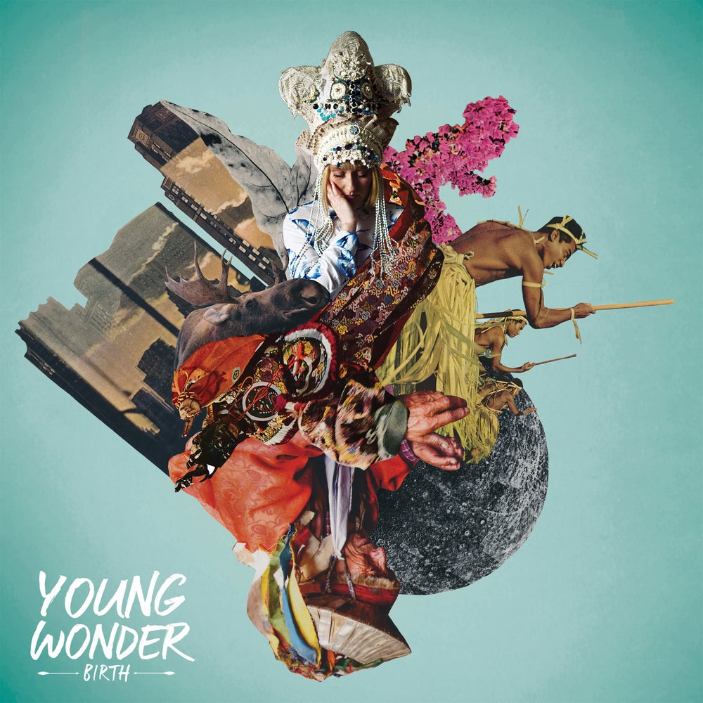Image of Young Wonder 'Birth' ltd edition coloured vinyl LP!