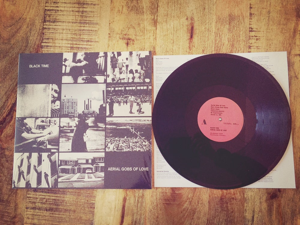 "Image of PREORDER - Black Time - Aerial Gobs Of Love 12"" + Walkman Abortions Cassette"