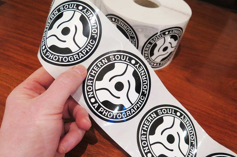 Image of FREE Northern Soul - Project Logo Sticker