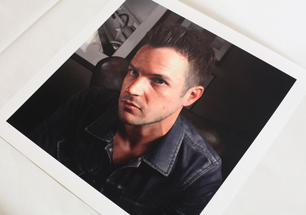 Image of Brandon Flowers // Limited Edition print