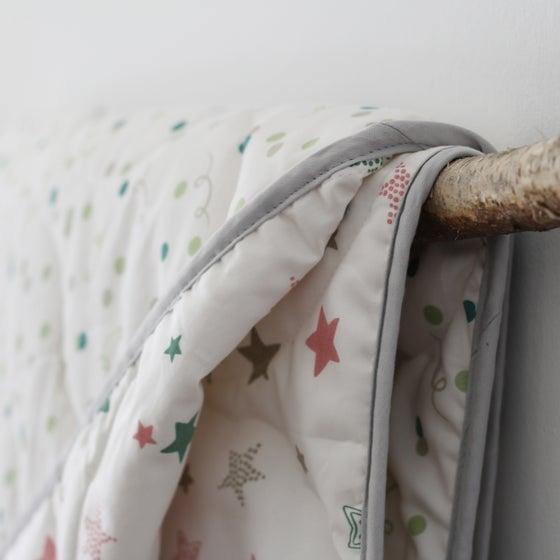 Image of Organic Baby Blanket - Starlight/Confetti