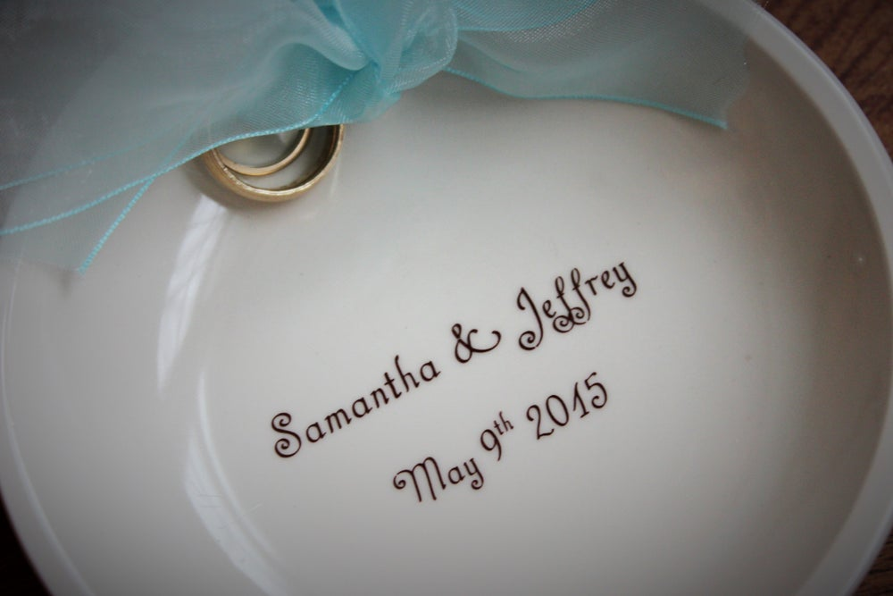 Image of Custom Ring Bearer Dish