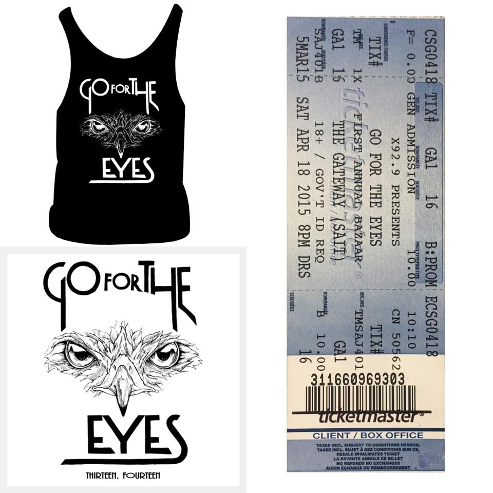 Image of GFTE, Package #3 (Shirt OR Tank, Ticket and Vinyl)