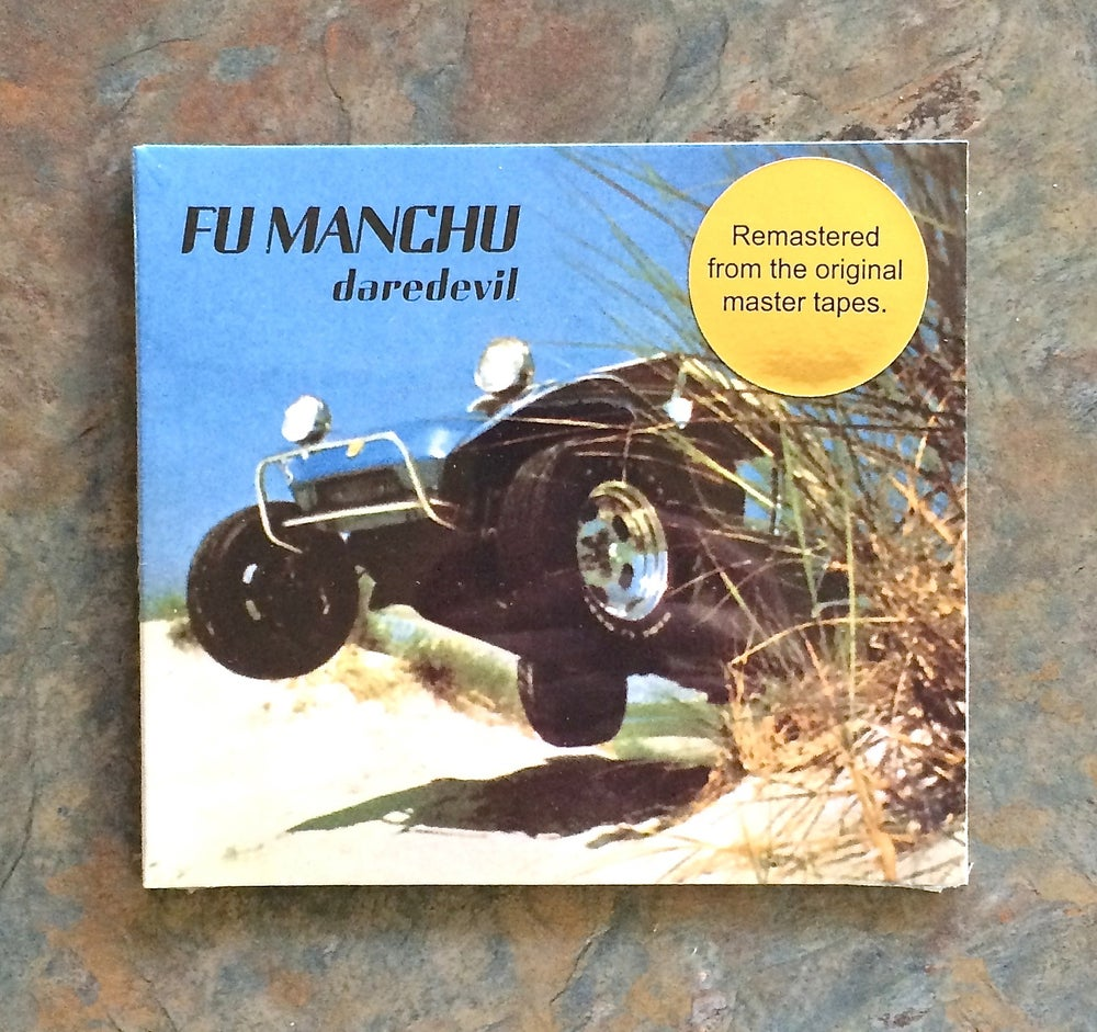 "Image of Fu Manchu 2015 ""daredevil"" remaster reissue CD"