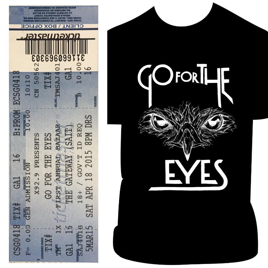 Image of GFTE, Package #1 (Shirt OR Tank, and ticket)
