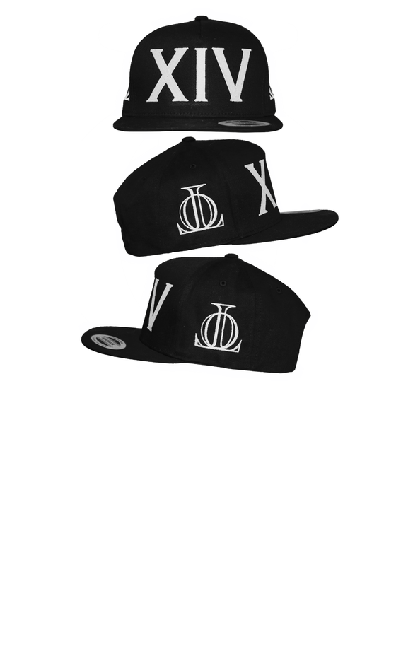 Image of XIV BLACK SNAP BACK