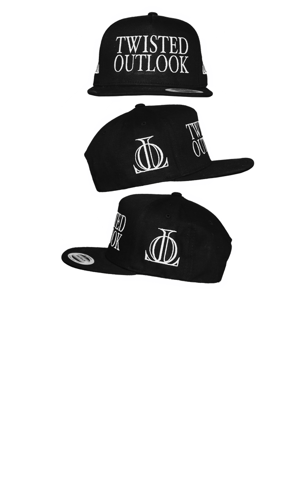Image of TWISTED OULOOK BLACK SNAP BACK