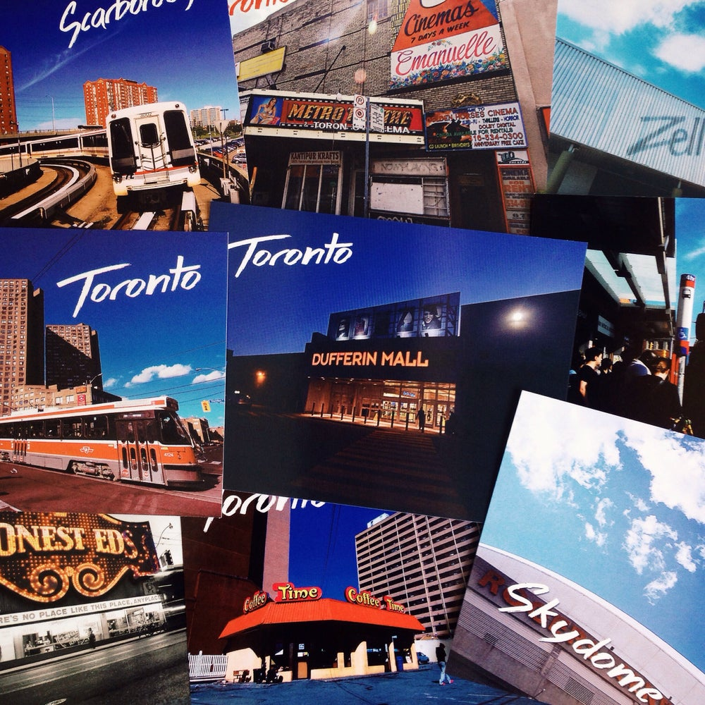 Image of Best of Toronto Postcards