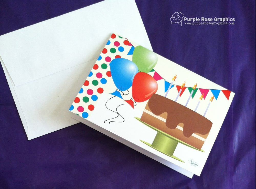 Image of Birthday Party Card