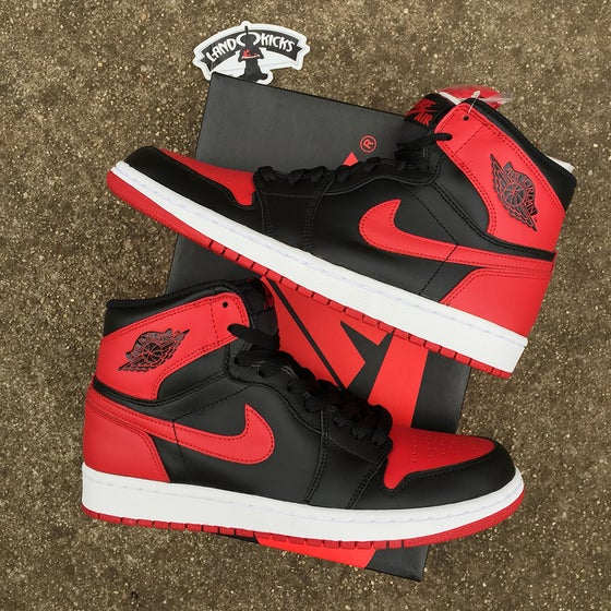 Image of Nike Air Jordan 1 Retro High OG 'BRED'