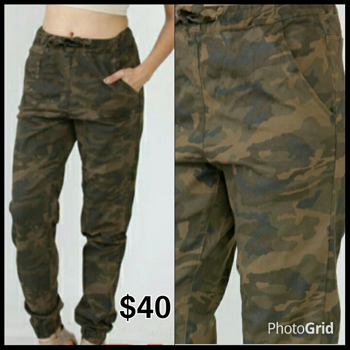 Image of Army Fatigue Joggers