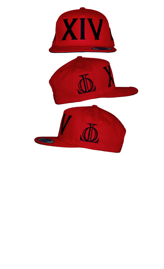 Image of XIV RED SNAP BACK