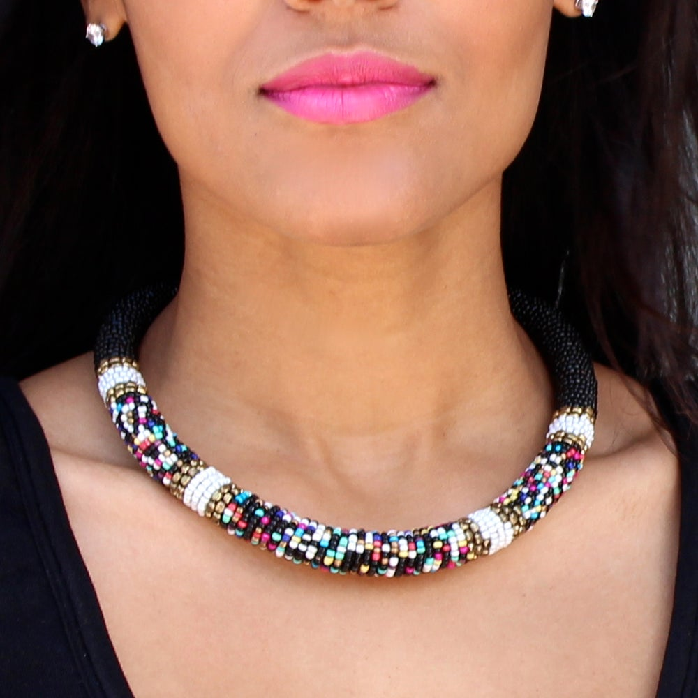Image of Tribal Bead Choker