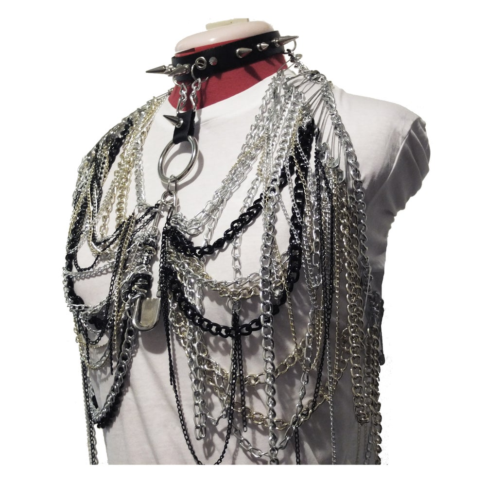 Image of CHAIN CHEST PIECE
