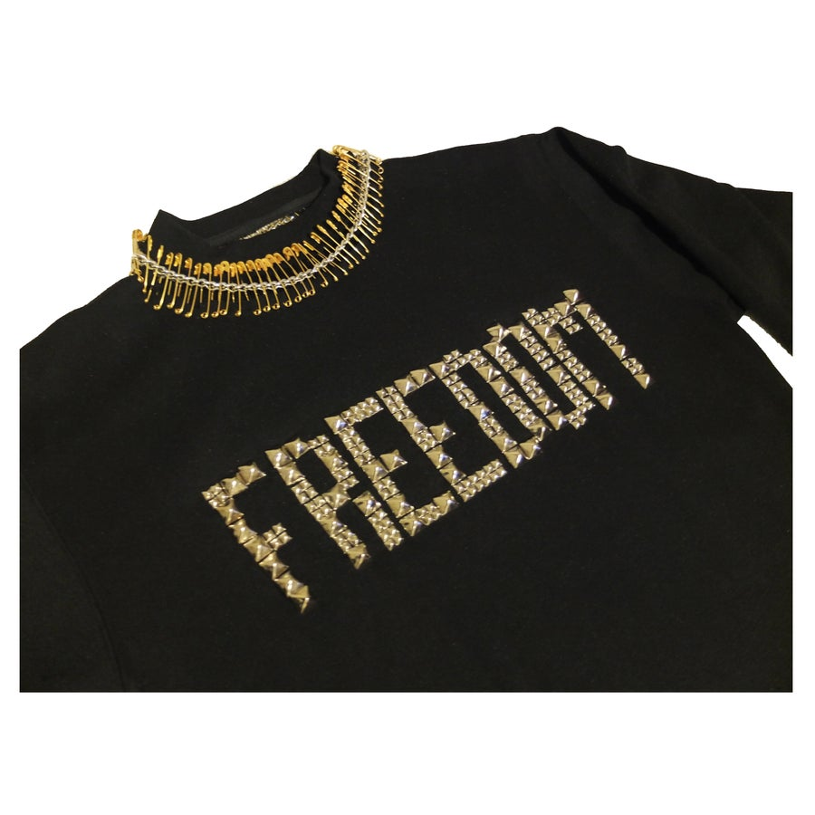 Image of FREEDOM STUD SWEATER