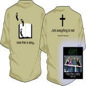 "Image of ""More Than A Story"" Combo Pack (T-Shirt & CD) SAVE $5!!!"