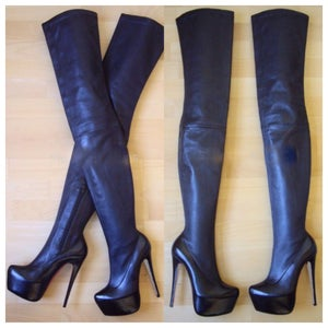 Image of Yannie Thigh High Heels
