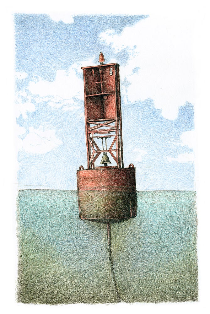 Image of Red Bell Buoy