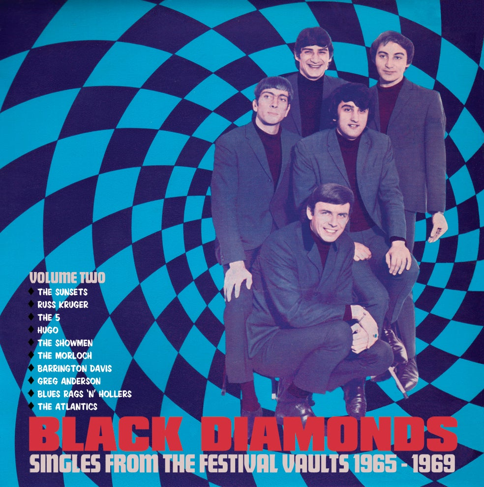 Image of Black Diamonds : Singles From The Festival Vault 1965 - 1969 Volume Two (10 x 45 BOX SET)