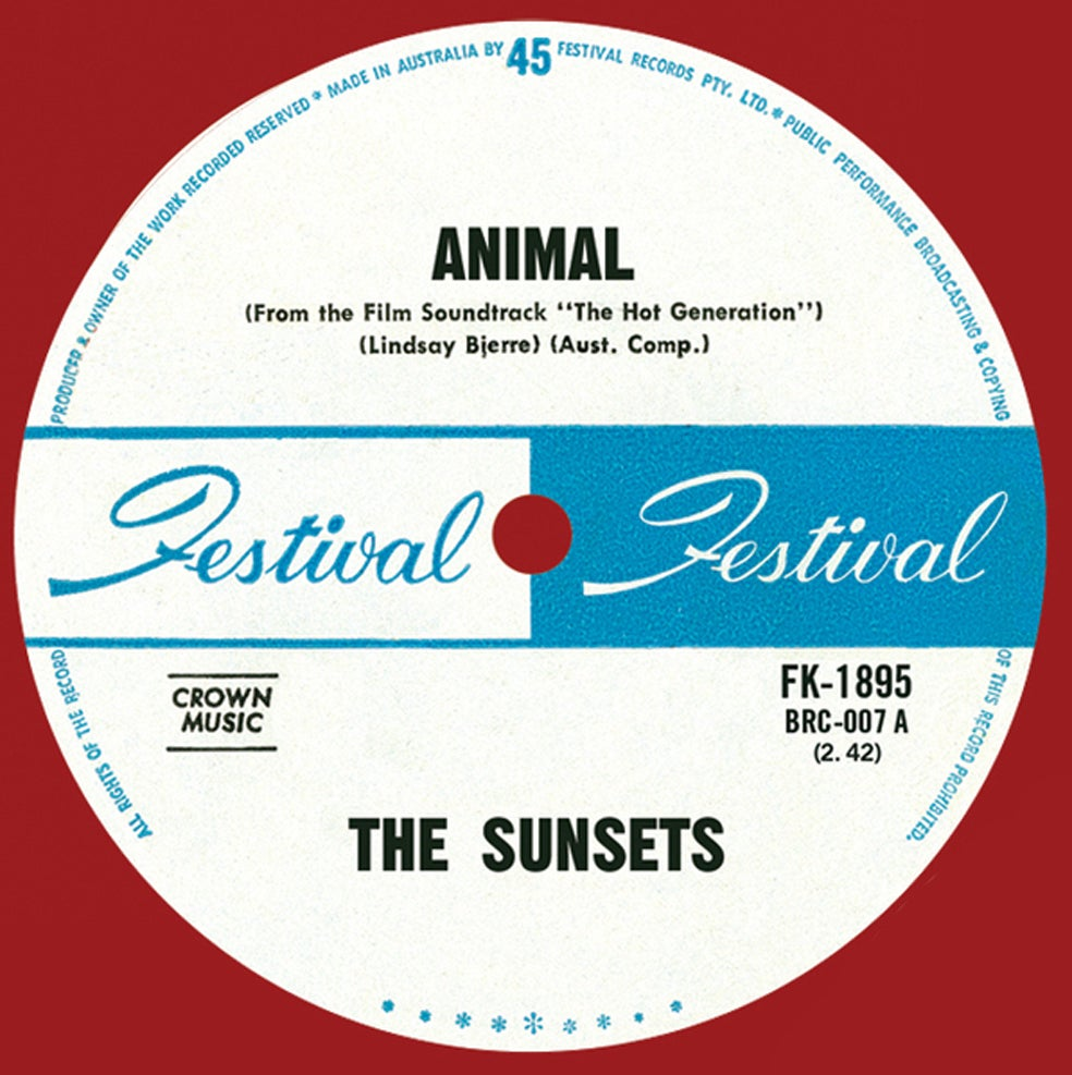 Image of Animal / Uptight, Out Of Sight