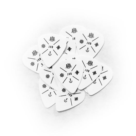 Image of JHB Logo Guitar Pick (Pack of 5)