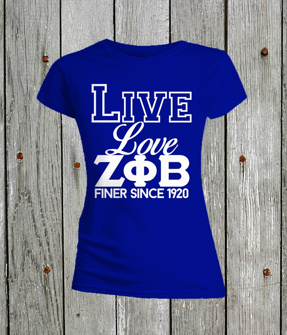 Image of Live, Love Zeta Phi Beta