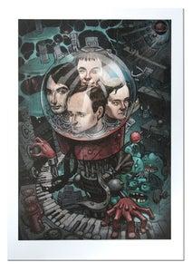 Image of Kraftwerk - Lithograph Print