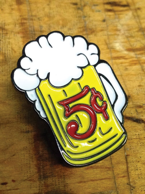 Image of 5 Cent Beer Mug